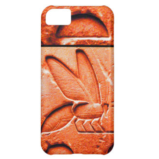 ANTIQUE EGYPTIAN HONEY BEE BEEKEEPER Red Case For iPhone 5C