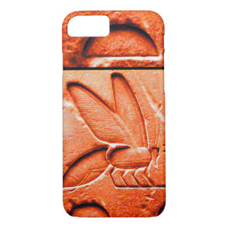 ANTIQUE EGYPTIAN HONEY BEE BEEKEEPER Red iPhone 8/7 Case