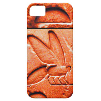 ANTIQUE EGYPTIAN HONEY BEE BEEKEEPER Red iPhone SE/5/5s Case