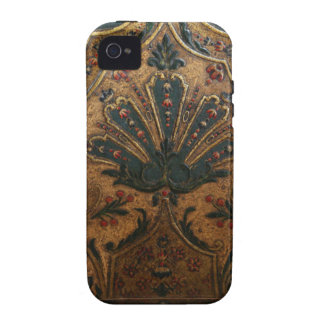 ANTIQUE EMBOSSED FRENCH FAUX LEATHER Case-Mate iPhone 4 COVER