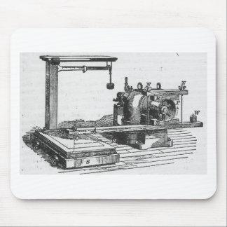 Antique Engineering Tool Vintage Ephemera Mouse Pad