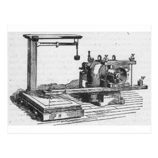 Antique Engineering Tool Vintage Ephemera Postcard