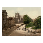 Antique England, College Green, Bristol U.K. Posters