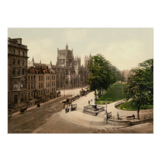 Antique England College Green Bristol U K Posters