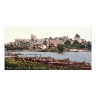 Antique England, Windsor Royal Castle Photo Card