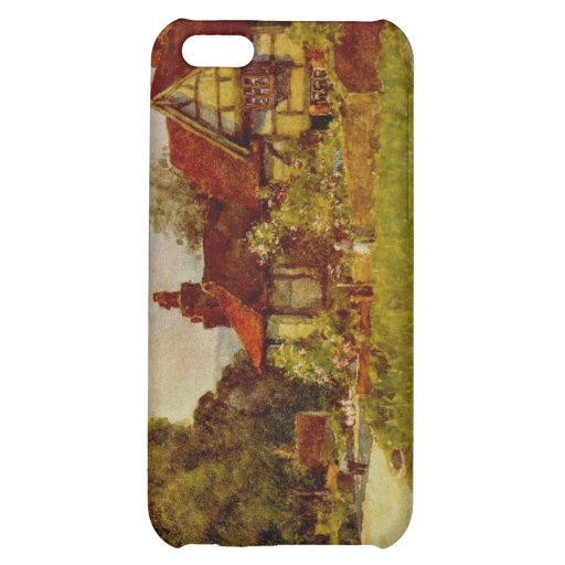 Antique English Landscape Glynde Village Sussex Cover For iPhone 5C