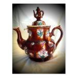 Antique English Teapot Postcards