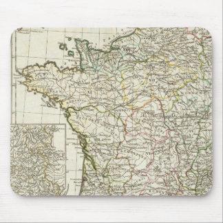 Antique European Map Mouse Pad