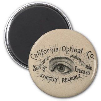 Antique eye advertising art magnet