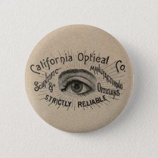 Antique eye advertising button