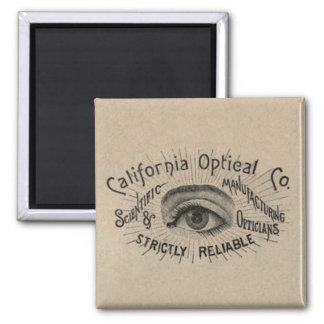 Antique eye advertising magnet