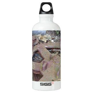 Antique Farm Equipment Water Bottle