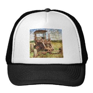antique farm tractor hat