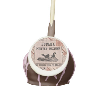 Antique Feed Canister Cake Pops
