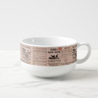 Antique Feed Canister Soup Mug