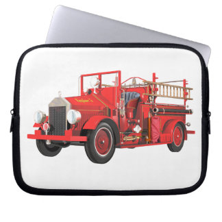 Antique Fire Engine Computer Sleeve