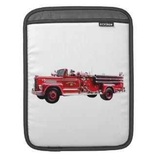 Antique Fire Engine iPad Sleeve