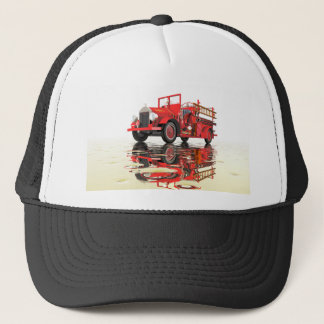 Antique Fire Engine Trucker Hat