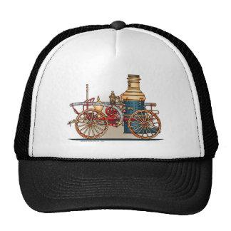 Antique Fire Truck Steam Pumper Hat