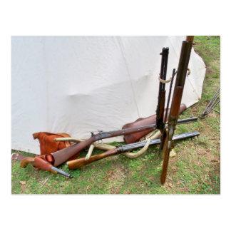 Antique Firearms Postcard