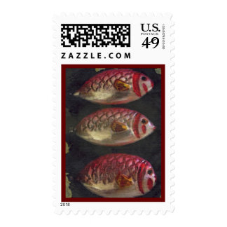 Antique Fish Christmas Ornament Christmas Postage