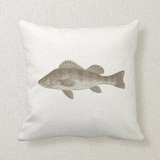 Fishy pillows decorative throw pillows zazzle for Fish throw pillows