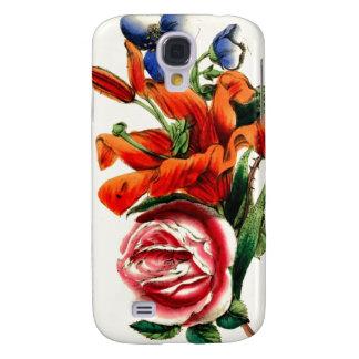 Antique Floral Design Samsung Galaxy S4 Cover