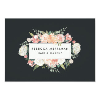 Antique Floral Logo Gift Certificate Card
