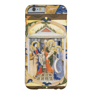 ANTIQUE FLORAL NATIVITY CHRISTMAS PARCHMENT BARELY THERE iPhone 6 CASE