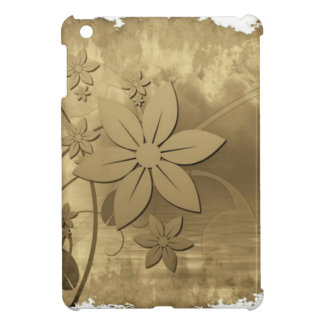 Antique Floral Paper Cover For The iPad Mini