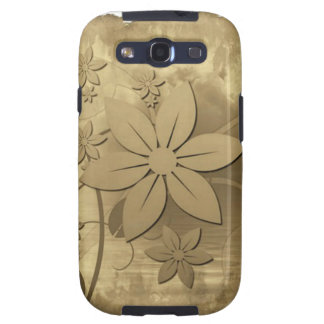 Antique Floral Paper Samsung Galaxy S3 Covers