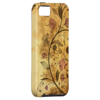 Antique Floral Pattern iPhone 5 Cover