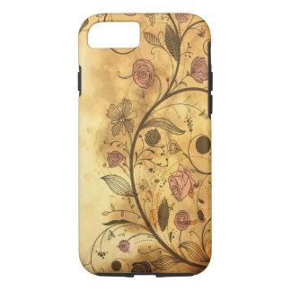 Antique Floral Pattern iPhone 7 Case