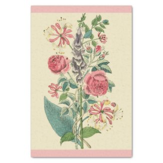 Antique Floral Print 10