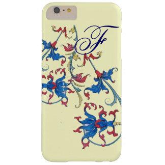 ANTIQUE FLORENTINE FLORAL MOTIFS MONOGRAM,Cream Barely There iPhone 6 Plus Case