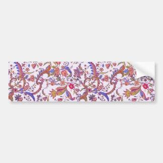 Antique Flowers ~ Bright & Cheery Bumper Sticker
