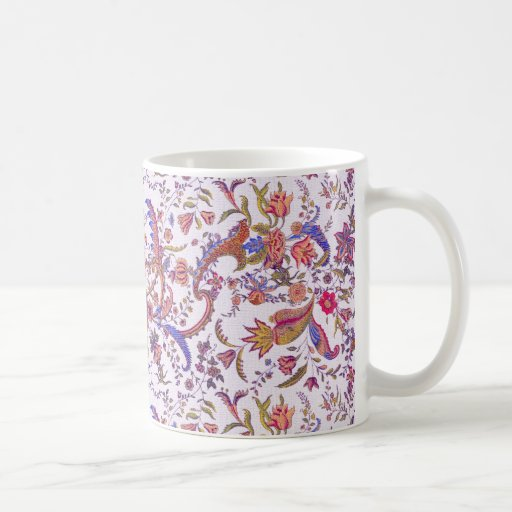 Antique Flowers ~ Bright & Cheery Coffee Mugs
