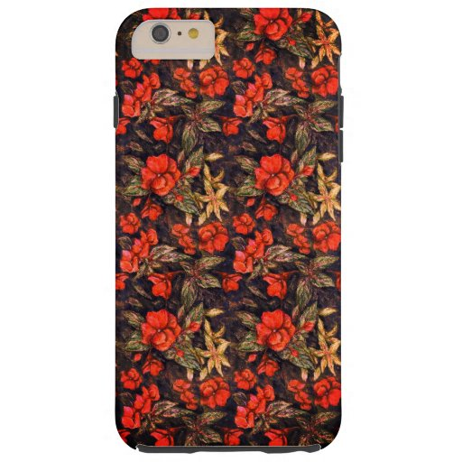 Antique Flowers by Alexandra Cook aka Linandara Ca Tough iPhone 6 Plus Case