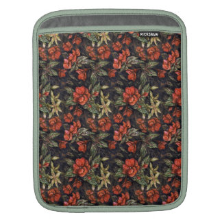 Antique Flowers by Alexandra Cook aka Linandara iPad Sleeves