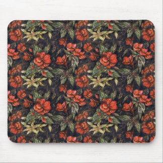 Antique Flowers by Alexandra Cook aka Linandara Mouse Pad