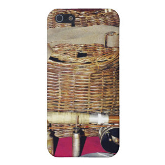 Antique fly fishing case for iPhone 5