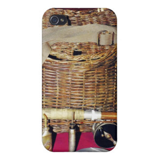 Antique fly fishing iPhone 4 covers