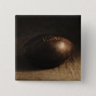 Antique football pinback button