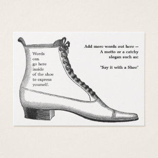 Antique Footwear Business Card