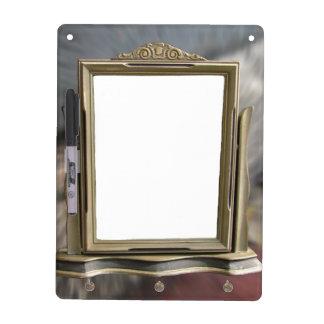 Antique Frame ~ Keychain Dry Erase board