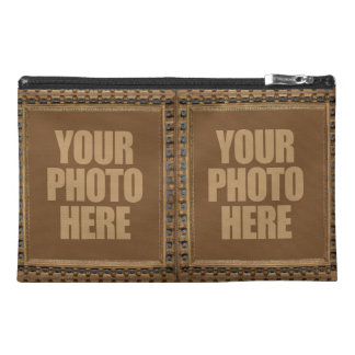 Antique Frame with YOUR 4 PHOTOS accessory bags