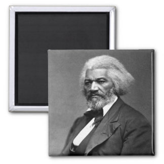 Antique Frederick Douglass Portrait Refrigerator Magnet