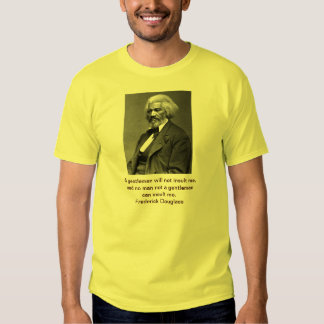 Antique Frederick Douglass Portrait T Shirts