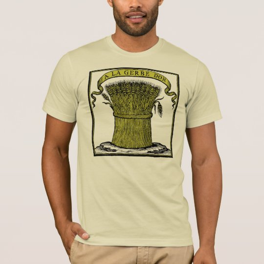 Antique French Cafe Advertisment T-Shirt
