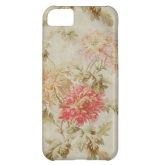 Antique French Floral Toile Case For iPhone 5C